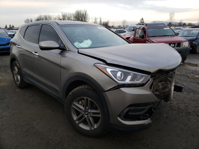 Salvage cars for sale from Copart Eugene, OR: 2017 Hyundai Santa FE S