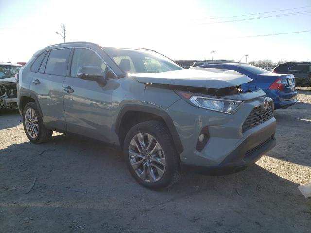 Salvage cars for sale from Copart Indianapolis, IN: 2019 Toyota Rav4 XLE P