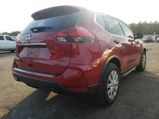 2017 NISSAN ROGUE S - Right Rear View