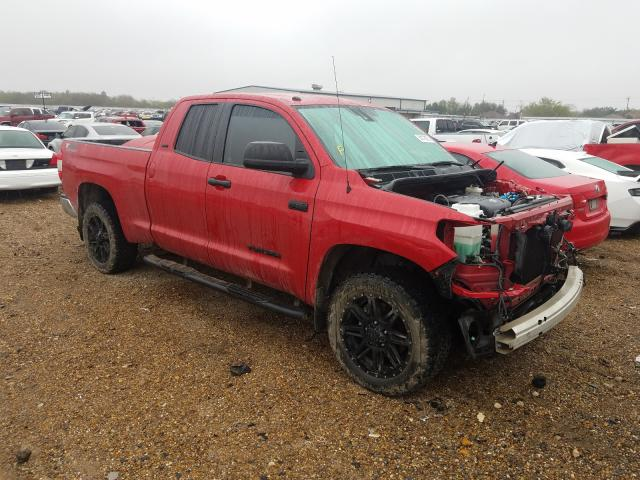 Salvage cars for sale from Copart Mercedes, TX: 2019 Toyota Tundra DOU
