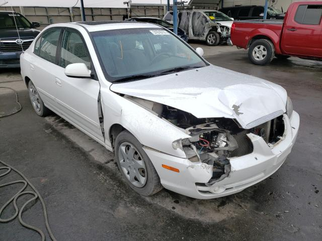 Salvage cars for sale from Copart Anthony, TX: 2005 Hyundai Elantra GL