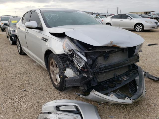 Salvage cars for sale from Copart San Antonio, TX: 2015 KIA Optima LX
