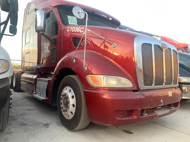 Salvage cars for sale from Copart Anthony, TX: 2010 Peterbilt 387