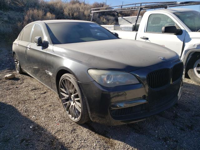 BMW 750 LI salvage cars for sale: 2012 BMW 750 LI