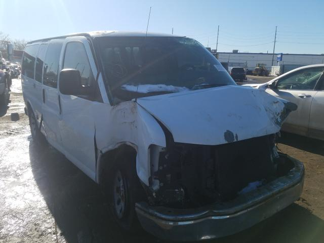 Salvage cars for sale from Copart Hammond, IN: 2011 Chevrolet Express G1