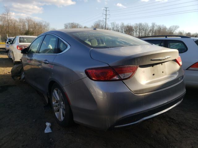 2015 CHRYSLER 200 LIMITE - Right Front View