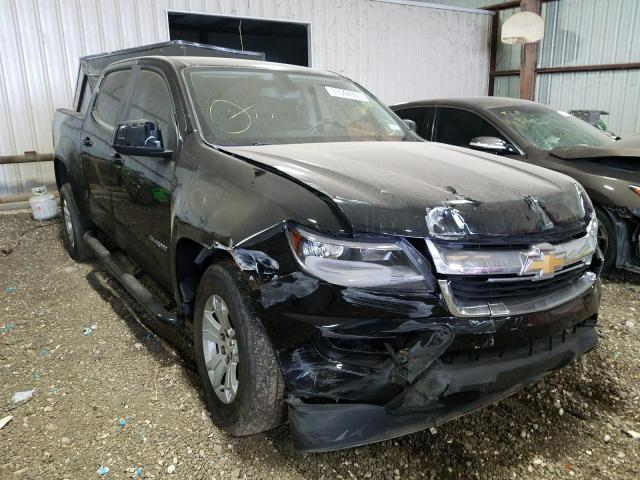 Salvage cars for sale from Copart Houston, TX: 2018 Chevrolet Colorado L