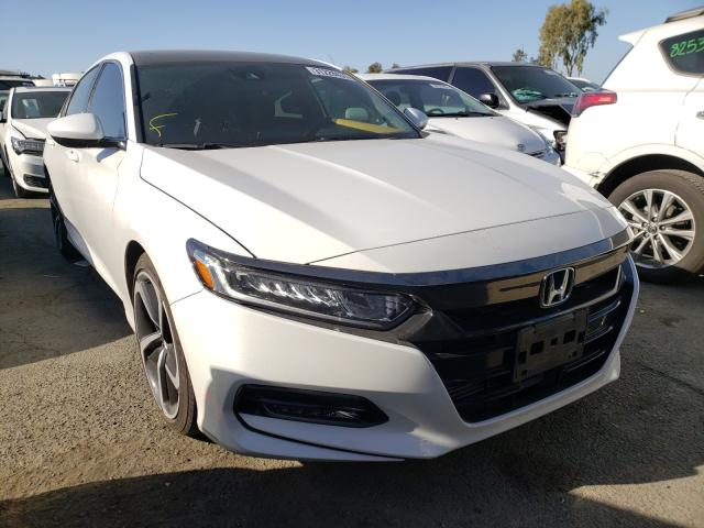 Salvage cars for sale from Copart Martinez, CA: 2020 Honda Accord Sport