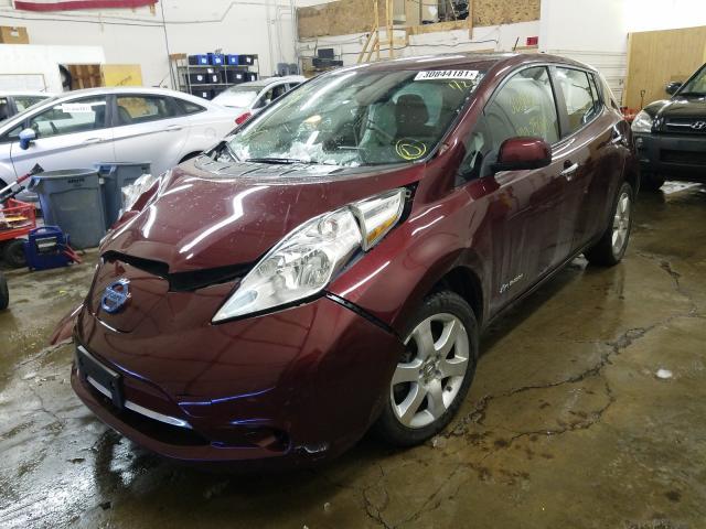 2016 Nissan LEAF   Vin: 1N4BZ0CP4GC300128