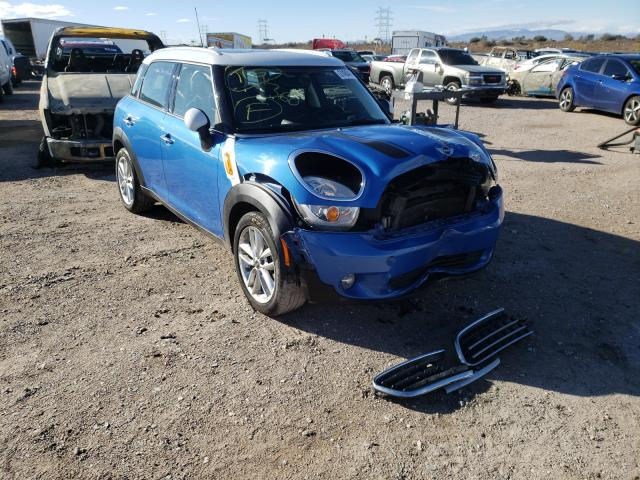 Salvage cars for sale from Copart Tucson, AZ: 2012 Mini Cooper COU
