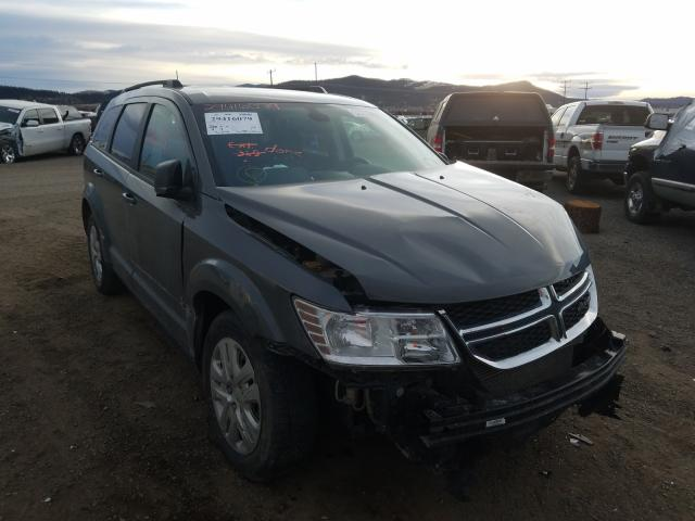 Salvage cars for sale from Copart Helena, MT: 2020 Dodge Journey SE