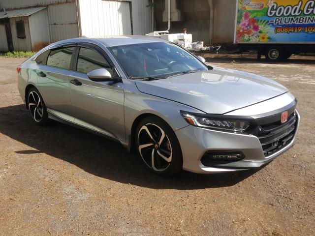 Salvage cars for sale from Copart Kapolei, HI: 2018 Honda Accord Sport