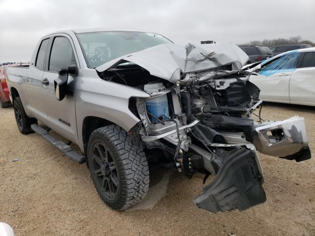 Salvage cars for sale from Copart San Antonio, TX: 2020 Toyota Tundra DOU