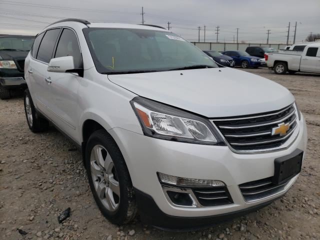 Salvage cars for sale from Copart Haslet, TX: 2017 Chevrolet Traverse P