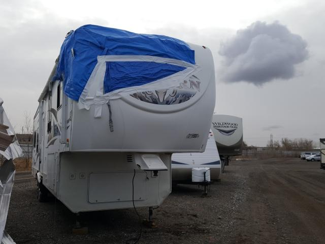 Heartland salvage cars for sale: 2009 Heartland Bighorn