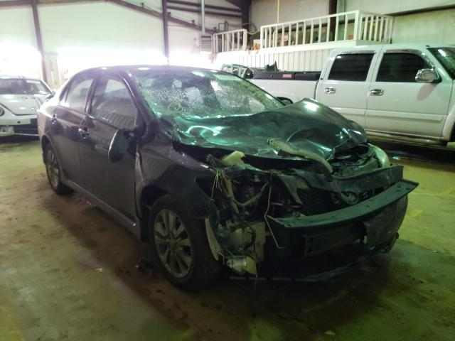 Salvage cars for sale from Copart Longview, TX: 2010 Toyota Corolla BA