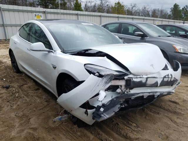 Salvage cars for sale from Copart Gaston, SC: 2020 Tesla Model 3