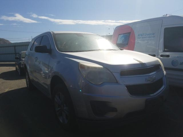 Salvage cars for sale from Copart Colton, CA: 2010 Chevrolet Equinox LS