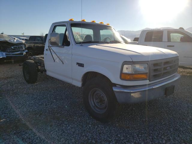 Ford F350 salvage cars for sale: 1996 Ford F350