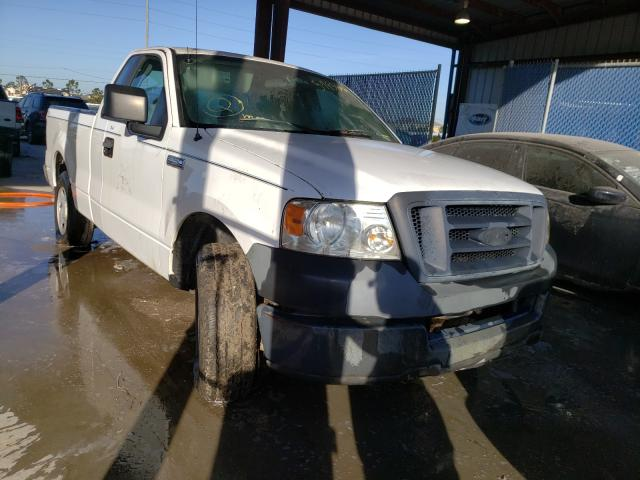 Salvage cars for sale from Copart Riverview, FL: 2005 Ford F150
