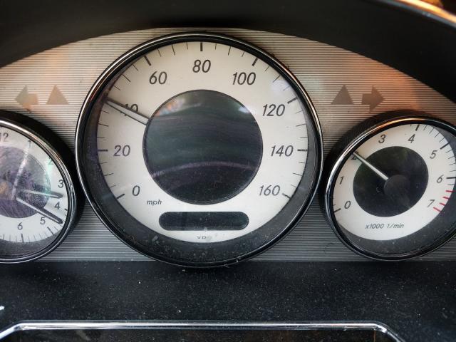 2011 MERCEDES-BENZ CLS 550 - Engine View