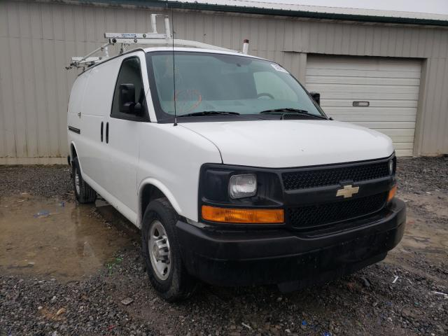 Salvage cars for sale from Copart Madisonville, TN: 2014 Chevrolet Express G2