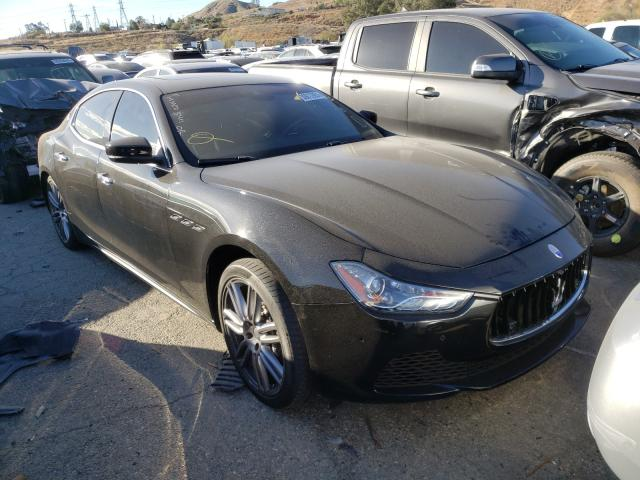 Salvage cars for sale from Copart Colton, CA: 2017 Maserati Ghibli S