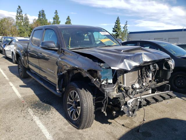 Salvage cars for sale from Copart Rancho Cucamonga, CA: 2020 Toyota Tacoma DOU