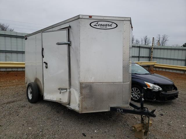 Salvage cars for sale from Copart Chatham, VA: 2019 Leonard Trailer