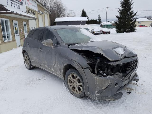 Salvage cars for sale from Copart Montreal Est, QC: 2019 Mazda CX-3 Touring