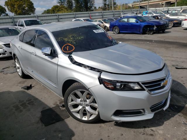 Salvage cars for sale from Copart Miami, FL: 2019 Chevrolet Impala PRE