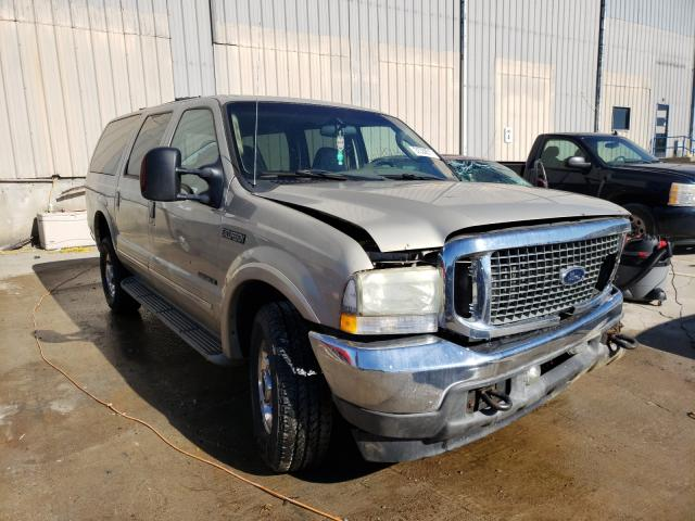 Salvage cars for sale from Copart Lawrenceburg, KY: 2004 Ford Excursion
