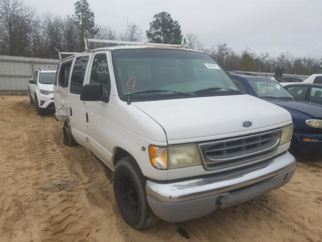 Salvage cars for sale from Copart Gaston, SC: 2002 Ford Econoline