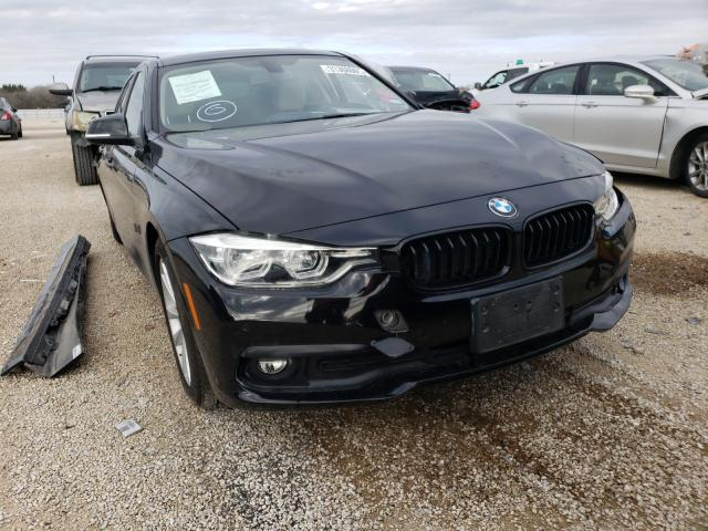 Salvage cars for sale from Copart San Antonio, TX: 2017 BMW 320 I