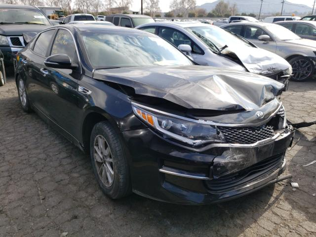 Salvage cars for sale from Copart Colton, CA: 2016 KIA Optima LX