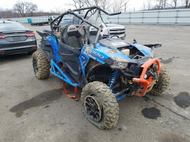 Salvage cars for sale from Copart West Mifflin, PA: 2015 Polaris RZR XP 100