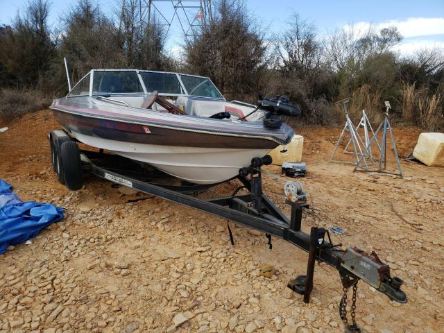 Salvage boats for sale at China Grove, NC auction: 1990 Boat W Trailer