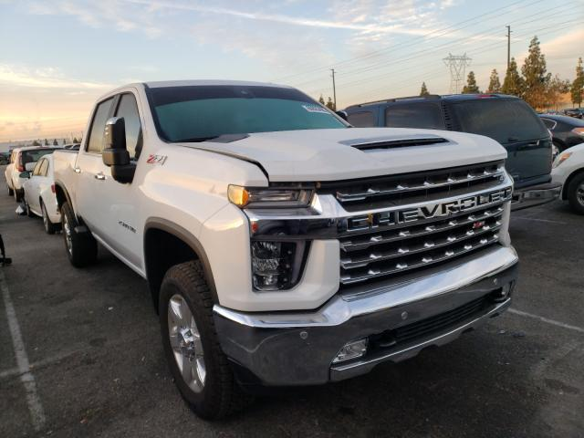 Salvage cars for sale from Copart Rancho Cucamonga, CA: 2020 Chevrolet Silverado