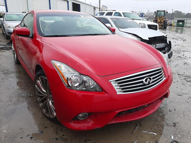 Salvage cars for sale from Copart Montgomery, AL: 2013 Infiniti G37 Sport
