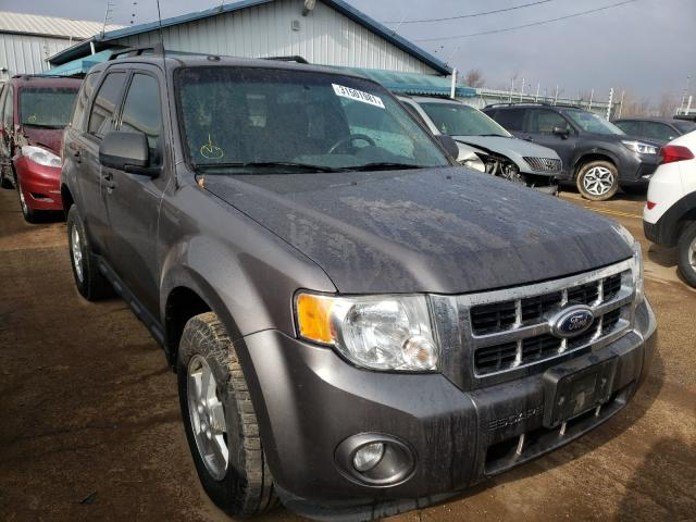 Salvage cars for sale from Copart Pekin, IL: 2012 Ford Escape XLT