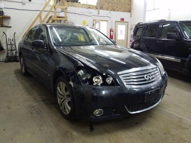 Salvage cars for sale from Copart Ham Lake, MN: 2009 Infiniti M35 Base