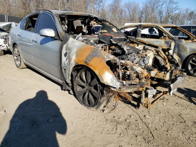 Salvage cars for sale from Copart Waldorf, MD: 2006 Infiniti M35 Base