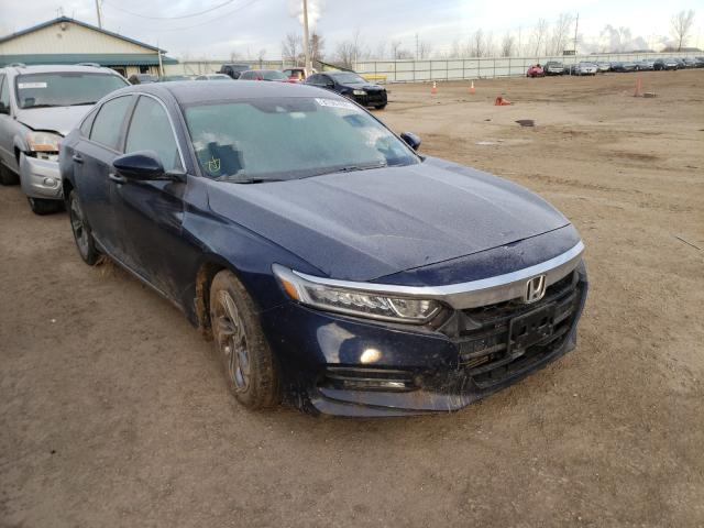 Salvage cars for sale from Copart Pekin, IL: 2020 Honda Accord EXL