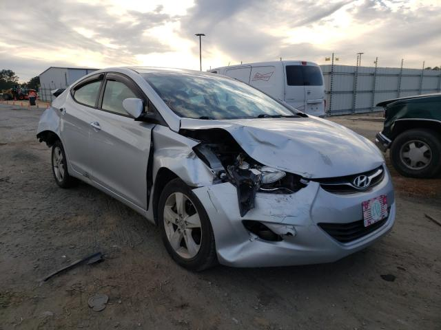 Hyundai Elantra salvage cars for sale: 2012 Hyundai Elantra