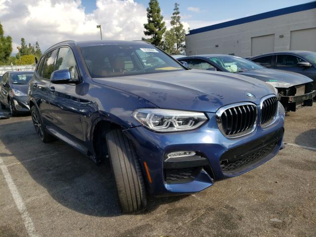 Salvage cars for sale from Copart Rancho Cucamonga, CA: 2019 BMW X3 XDRIVE3