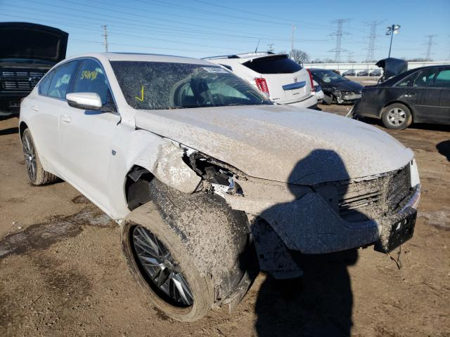 Salvage cars for sale from Copart Elgin, IL: 2020 Cadillac CT5 Luxury
