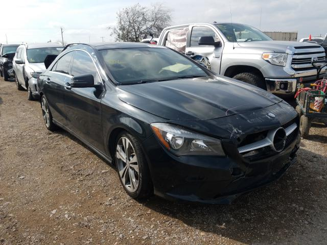 Salvage cars for sale from Copart Mercedes, TX: 2015 Mercedes-Benz CLA 250