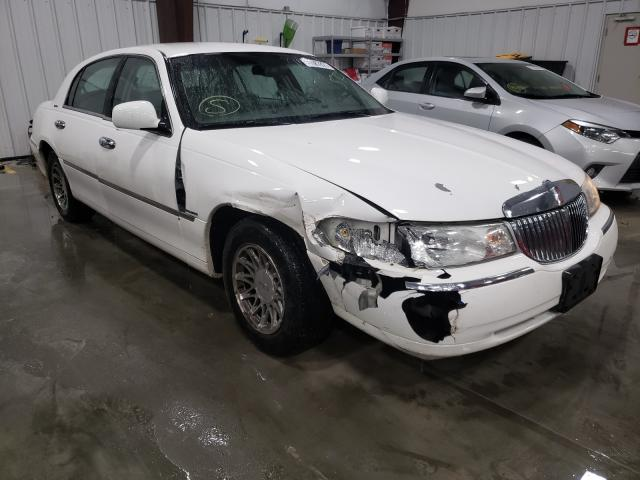 Lincoln Town Car salvage cars for sale: 2002 Lincoln Town Car