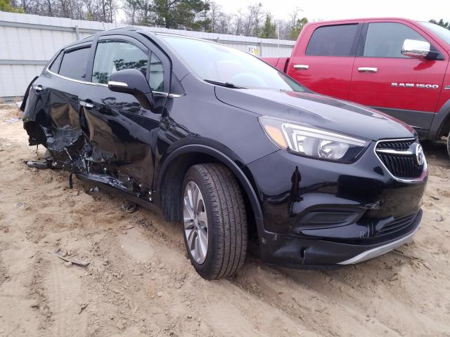 Salvage cars for sale from Copart Gaston, SC: 2019 Buick Encore PRE