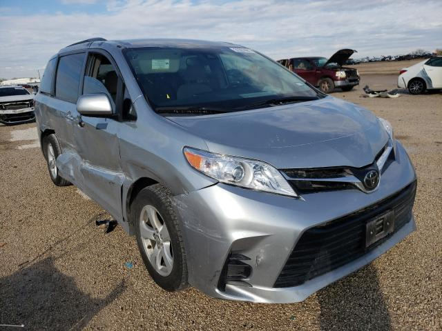 Salvage cars for sale from Copart San Antonio, TX: 2019 Toyota Sienna LE
